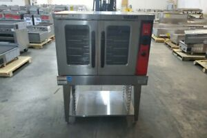 3092 Used Vulcan Gas Convection Oven With Digital Temp And Timer Model Vc5gd