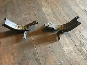 1928 1929 Ford Model A Oval Window Top Bow Main Roof Brackets Business 28 29 Dd