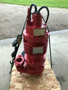 new Weil Submersible Waste Water Pump W 1601 16 Single Phase 1 H