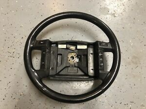 90 93 Mustang Gt Leather Wraped Steering Wheel Oem Ford Part Lx 5 0 Hatch Coupe