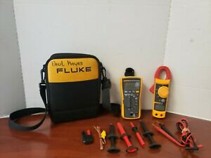 Fluke 116 True Rms Multimeter And 322 Clamp Meter In Soft Case C x