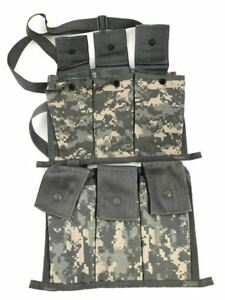 2 ACU 6 Magazine Bandoleer Pouch MOLLE Mag Pouches Military Army Digital Camo $17.99