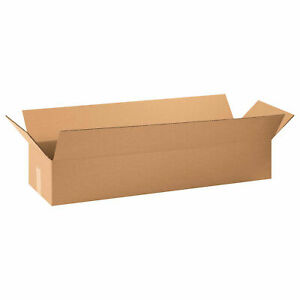 30 X 8 X 8 Long Cardboard Corrugated Boxes 65 Lbs Capacity Ect 32 Lot Of