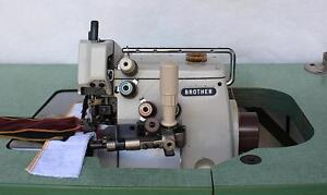 Brother Ma4 B551 2 needle 5 thread Overlock Shirring Industrial Sewing Machine