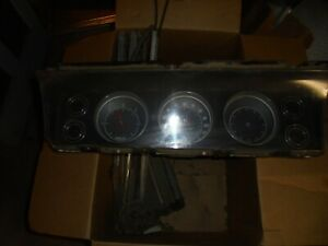 1968 1969 1970 Impala Dash Cluster Gauges 73k