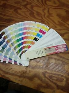 Pantone Solid To Process Imaging Guide