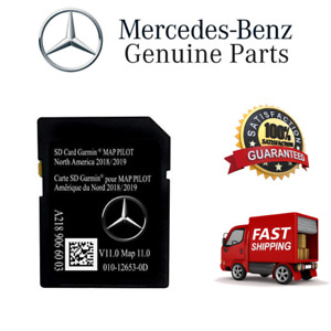 New Sd Card Garmin Map V11 0 2018 2019 Mercedes Benz Navigation Part A2189066003