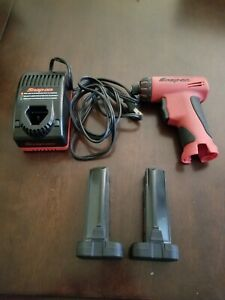 Snap On Cordless Screw Driver 2 Batteries And Charger Cts596