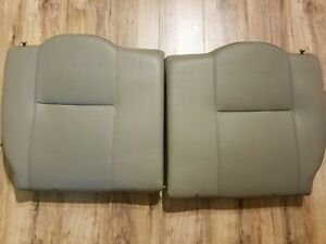 05 06 Acura Rsx Type s Oem Leather Rear Seat Upper Driver Passenger Tan Beige