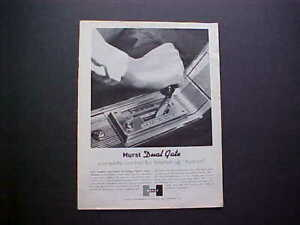 1964 Hurst Dual gate Shifter Vintage Ad From Nice Collection pontiac oldsmobile