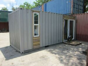Amazing Shipping Container Tiny Home Trade swap Chevy C10 Ls Swap F100 4 6 C vic