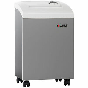 Dahle 9 5 Oil free Small Office Paper Shredder Level P4 Cross Cut 50214 Lot