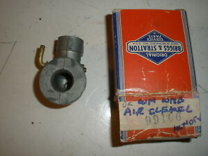 Vintage Nos Briggs Stratton Gas Engine Air Cleaner Elbow 99106 Wi Wm Wmb