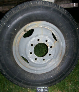 Dually Rim Steel 16 8 X 6 5 Wheel Tire Ford Chevy Dodge Truck No Shipping