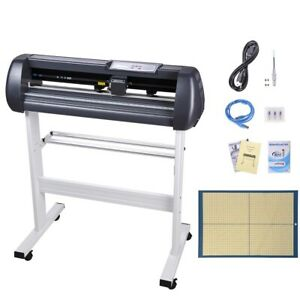 28 Lcd Vinyl Cutter Sign Plotter Cutting W Signmaster Basic Software 3 Blades