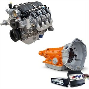 Chevrolet Performance 19370411pak Engine And Trans Kit Includes Ls3 495 Hp Crat