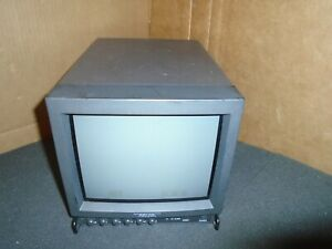 Tested Cleaned Pelco Pmc9a 9 Inch Crt Color Monitor