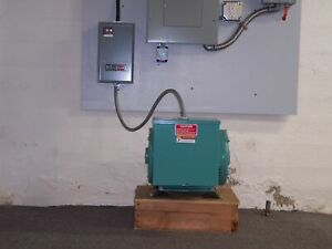 Arco Electric Roto phase Rvr 230 1ph Input To 230 3ph Rotary Phase Converter