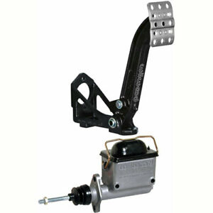 Wilwood 340 13833k4 Brake Or Clutch Pedal And Master Cylinder Kit Includes