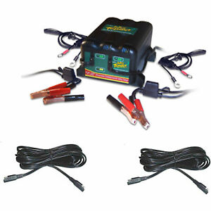 Battery Tender 0220165dlwhk 2 bank Battery Charger Extension Kit Includes 2 ban