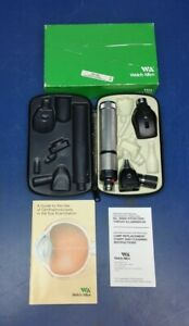 Welch Allyn Otoscope 25020a Ophthalmoscope 11710 Handle 71050 c