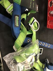Advanced Safety Solutions Harness Size M l New 6ft Internal Shock Lanyard