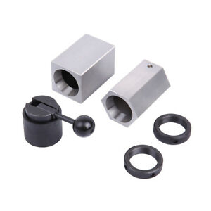 5c Collet Block Chuck Set High Hardness Square Hex Rings Closer Holder Lathe