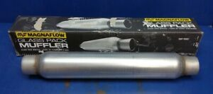 Magnaflow Glass Pack Muffler 2 25 Inlet And Outlet 22 Long 18125