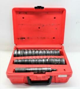 Snap On A257 28 Piece Heavy Duty Bushing Driver Set