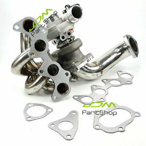 Td04 Turbo Manifold Downpipe For 96 99 Toyota Starlet Glanza 1 3 Ep91 Ep82 4efte