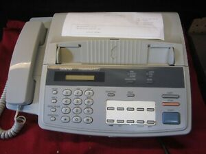 Vintage Brother Intellifax 620 Fax Machine Works Great And Shows Wear