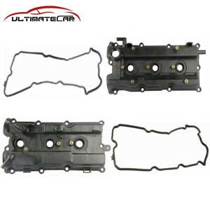 Set 2 Engine Valve Cover For 02 07 Altima Maxima Murano 02 04 I35 3 5l 264 985