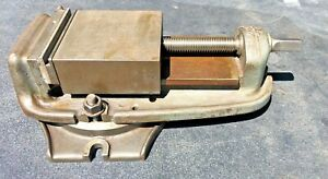 Bridgeport 6 Milling Machinist Vise W Swivel Machinist Tool Free Shipping