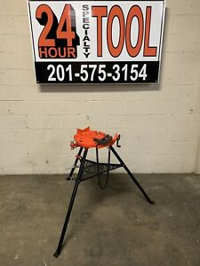 Ridgid 36278 Portable Chain Vise 1 8 To 12 Works With 460 450 300 700 141 161
