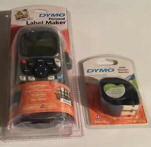 Dymo Personal Label Maker Lt 100h With A 2 Pk Of Cartridges New