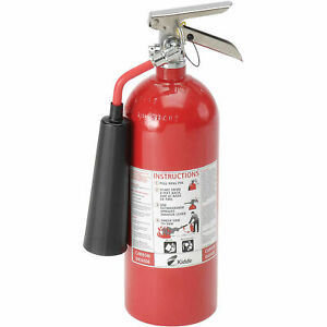 Carbon Dioxide Fire Extinguisher 5 Lb Lot Of 1