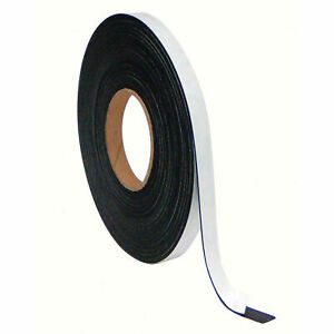 Mastervision Magnetic Adhesive Tape Roll 1 2 x 50 Ft Value Pack Lot Of 1