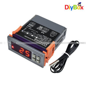 Digital Temperature Controller Thermostat Wh7016c Ac 220v Lcd Display 50 110