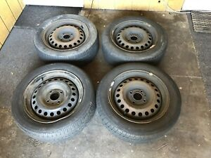 16 Inch Steel Rims With Used Tires