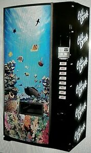 Vending Side Decals 2 pk For Your Cold Drink Machine Dixie narco Royal Vendo
