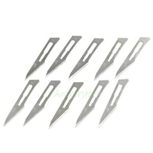 500pcs 11 Blades Carbon Steel Surgical Scalpel Blade Knife Graver Pcb Diy