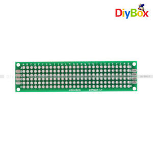 10pcs Double Side Circuit Board Prototype Pcb Tinned Universal Breadboard 2x8cm