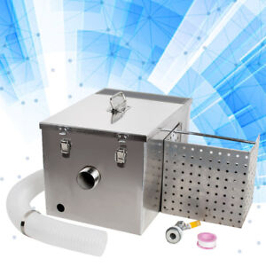 Commercial Grease Trap Interceptor For Restaurant Wastewater Removable Baffles