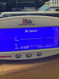Radical Masimo Signal Extraction Pulse Oximeter W Alarm Paging System