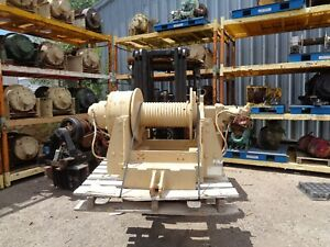Military Winch 60 000 Lb Dp Hydraulic Planetary Serial 25 7 0016 Mod 51022 1