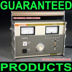 Staco E1010va Volt Amp Meter Bench Variac Ac Power Source Adjustable Calibrator