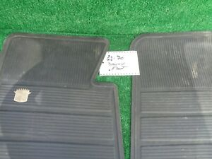 63 To 70 Cadillac Floor Mats Rubber Factory
