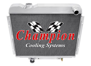 3 Row Super Champion Radiator For 1965 1966 Ford Galaxie 500 V8 Engine