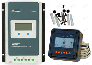 Solar Charge Controller Mppt Epever Tracer3210an Display Mt50