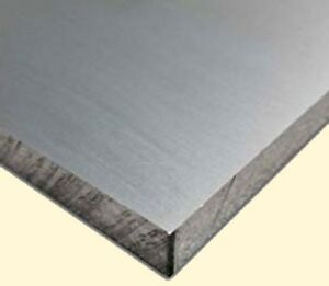Aluminum Bar Flat Stock 1 2 Thick X 3 Wide X 3 Long Unpolished Finish Alloy